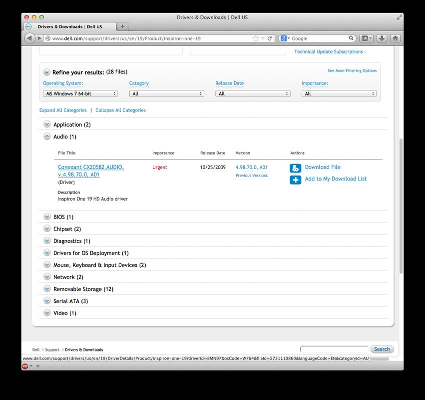 Dell support audio drivers download | Dell Audio Driver Download
